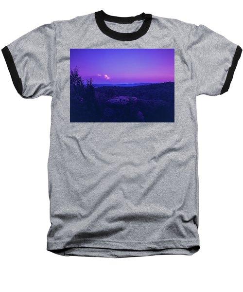 Stone Cloud Sky Cloud Baseball T-Shirt