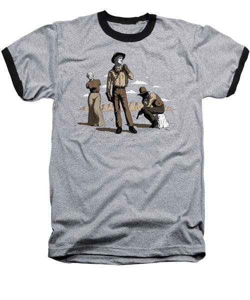 Stone-cold Western Baseball T-Shirt
