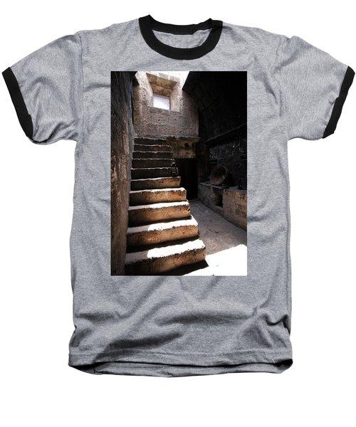 Stone Stairs At Santa Catalina Monastery Baseball T-Shirt