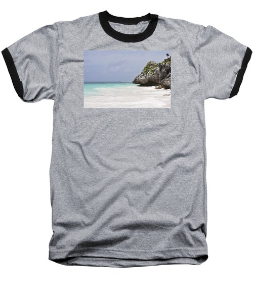 Baseball T-Shirt featuring the photograph Stone Turtle by Glenn Gordon