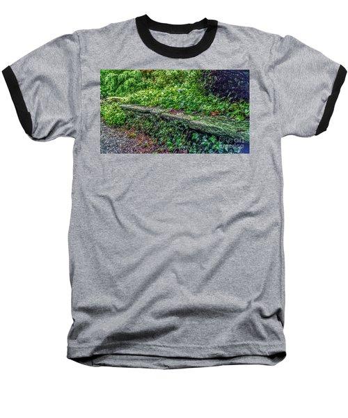 Stone Wall At Laurelwood Baseball T-Shirt