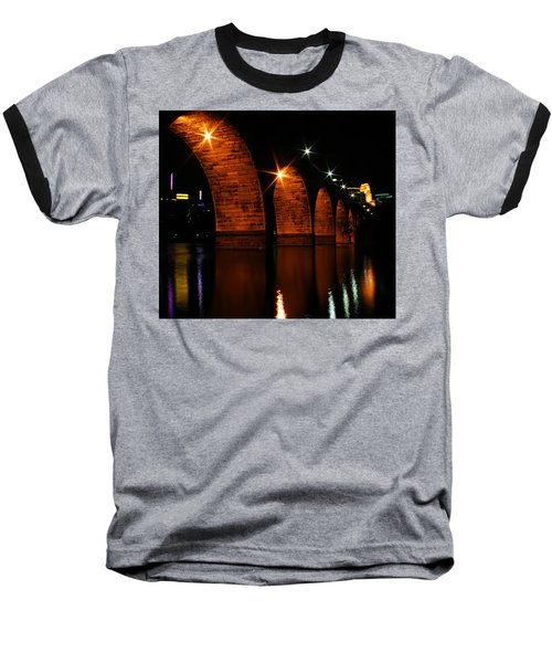 Stonearch Bridge - Minneapolis Baseball T-Shirt