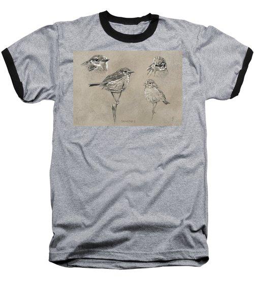 Stonechat Baseball T-Shirt