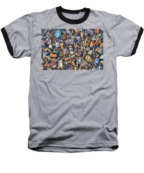 Baseball T-Shirt featuring the photograph Dry Creek by Wayne Sherriff