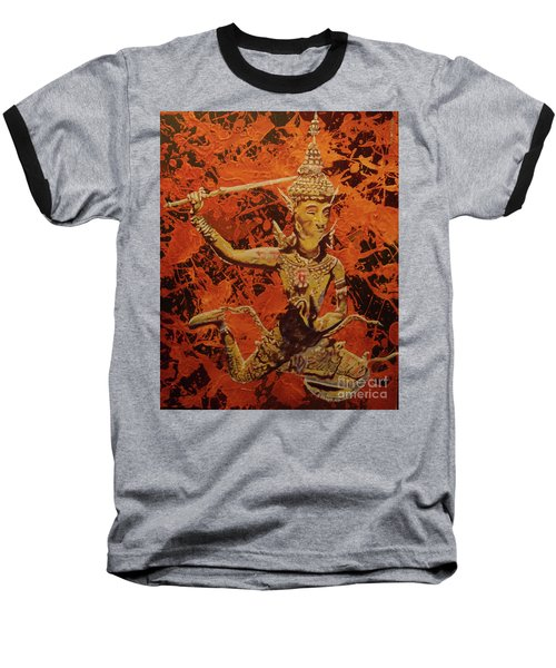Baseball T-Shirt featuring the painting Stoned Love by Stuart Engel