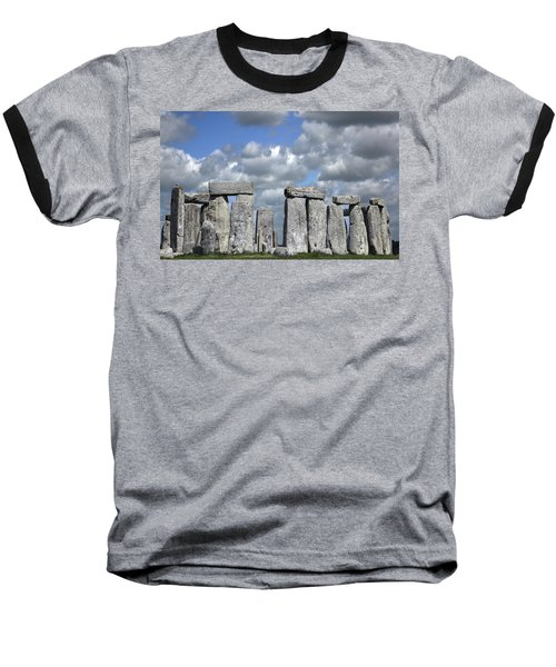 Baseball T-Shirt featuring the photograph Stonehenge by Elvira Butler