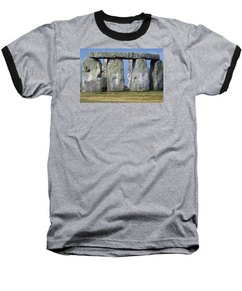 Stonehenge Baseball T-Shirt by Travel Pics