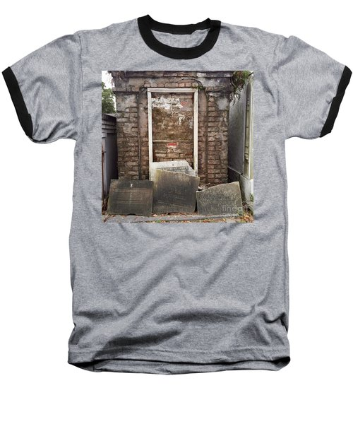Baseball T-Shirt featuring the photograph Stones And Markers by Kim Nelson