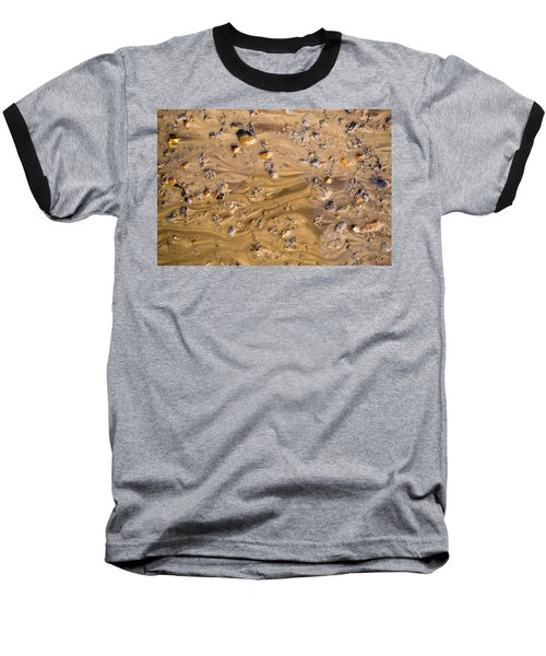 Baseball T-Shirt featuring the photograph Stones In A Mud Water Wash by John Williams