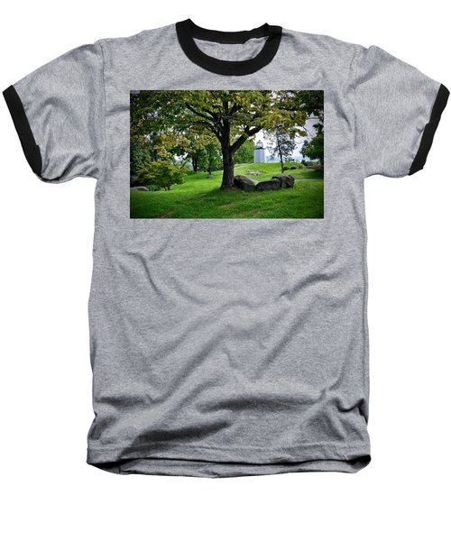 Stony Point Landscape Baseball T-Shirt