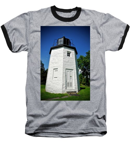 Stony Point Lighthouse Baseball T-Shirt