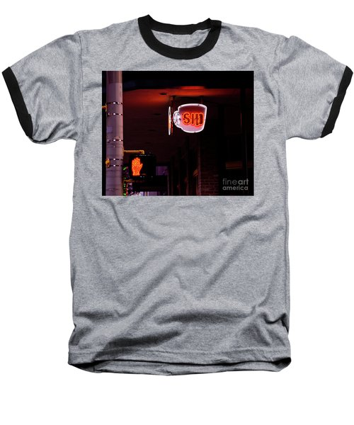 Stop And Sip Baseball T-Shirt