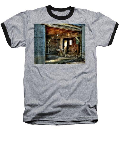 Storied Interior Baseball T-Shirt by Jerry Sodorff