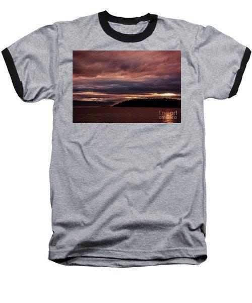 Storm 3 Baseball T-Shirt by Elaine Hunter