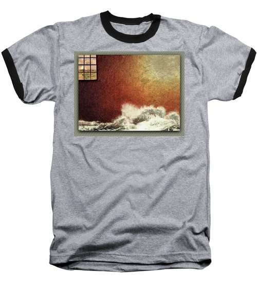 Storm Against The Walls Baseball T-Shirt