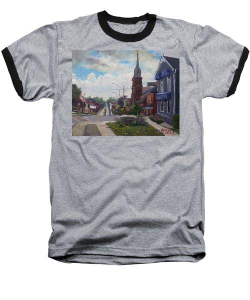 Storm Approach Over Downtown Georgetown Baseball T-Shirt
