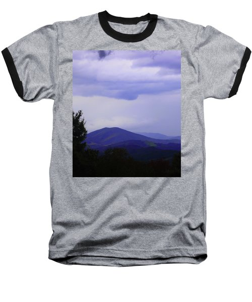 Storm At Lewis Fork Overlook 2014a Baseball T-Shirt