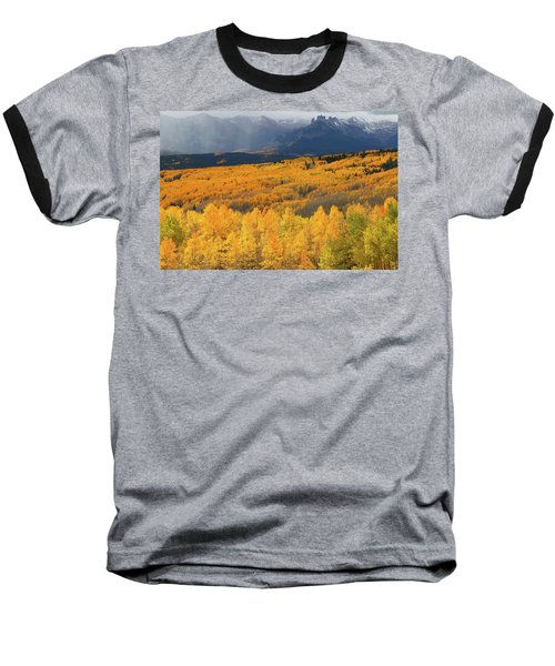 Storm At Ohio Pass During Autumn Baseball T-Shirt