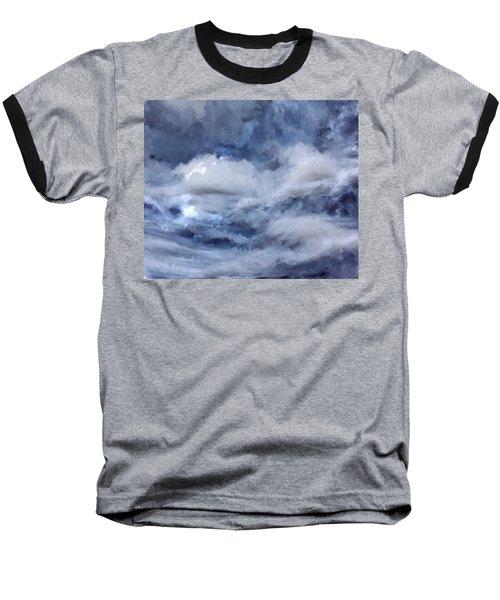 Storm At Sea Baseball T-Shirt