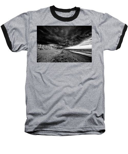 Storm Brewing Baseball T-Shirt by Kevin Cable