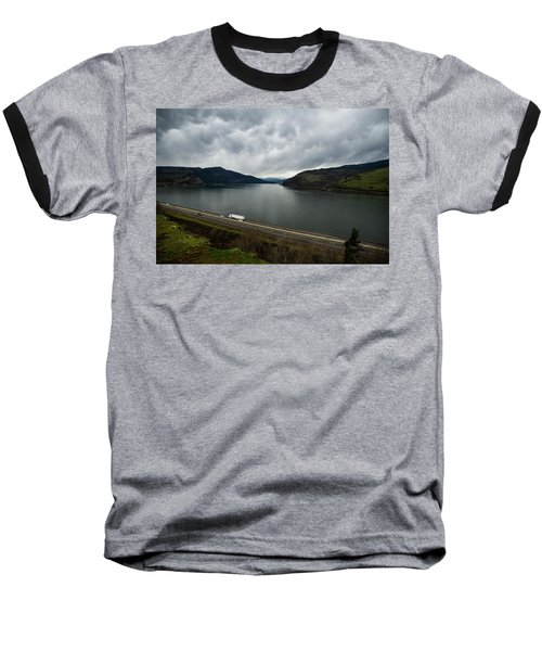 Storm Brewing On The Columbia Baseball T-Shirt