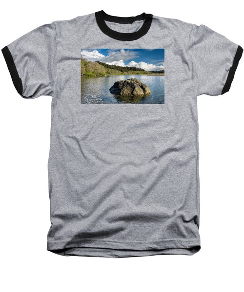 Storm Clearing On The Little River Baseball T-Shirt by Greg Nyquist