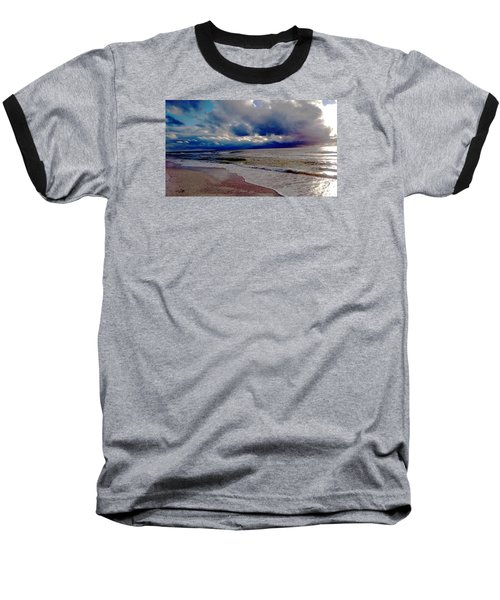 Baseball T-Shirt featuring the photograph Storm Clouds by Vicky Tarcau