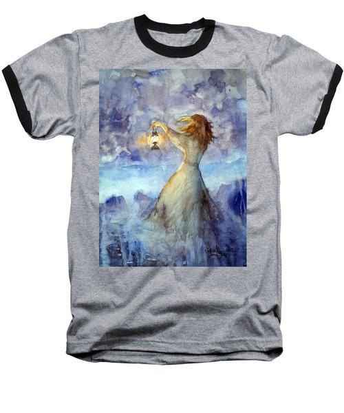 Storm... Baseball T-Shirt by Faruk Koksal