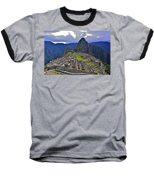 Storm Inbound To Machu Picchu Baseball T-Shirt