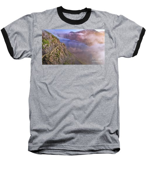 Storm King Highway Baseball T-Shirt