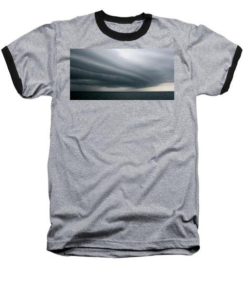Storm Near Liberia Baseball T-Shirt
