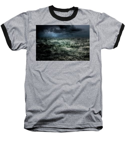 Storm On The Sound Baseball T-Shirt