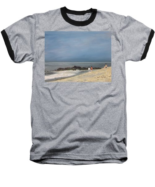 Storm Out To Sea Baseball T-Shirt