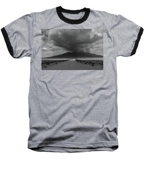Storm Over Blanca Peak Baseball T-Shirt