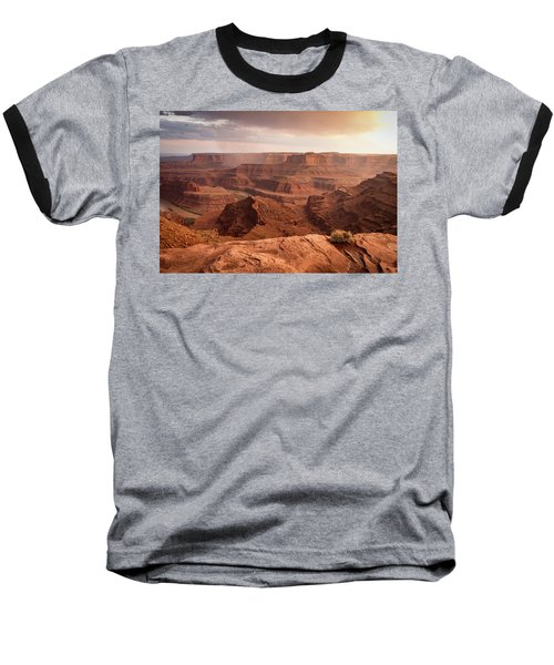 Storm Over Canyonlands Baseball T-Shirt