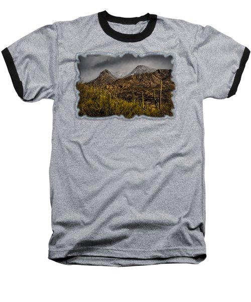 Storm Over Catalinas 15 Baseball T-Shirt