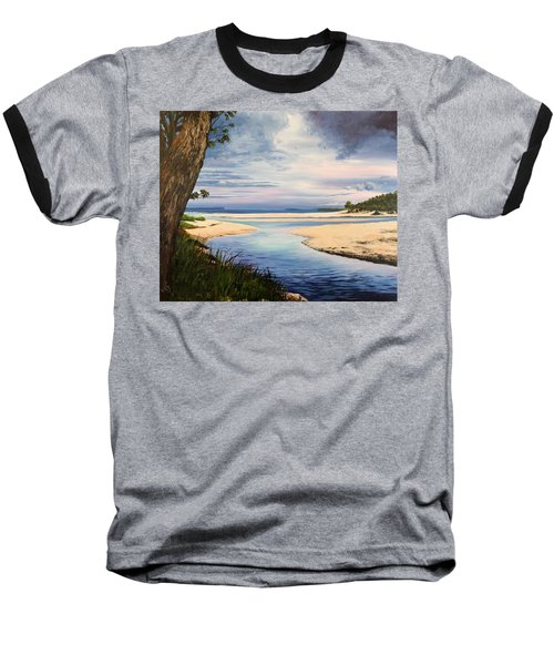 Storm Over Moona Moona Creek Baseball T-Shirt