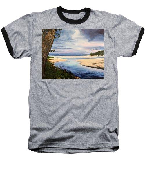Storm Over Moona Moona Creek Baseball T-Shirt