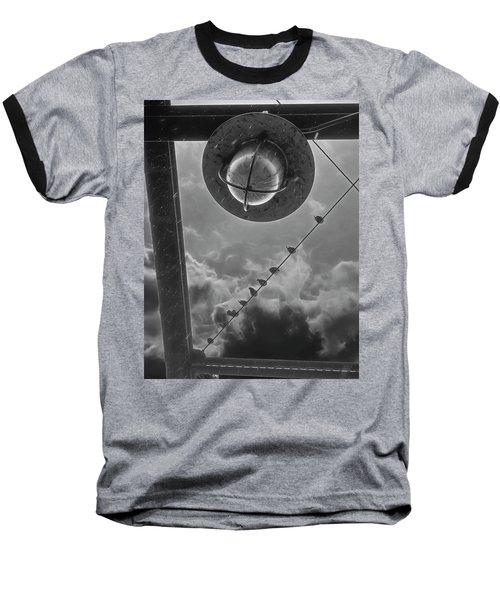 Storm Over The Bridge Baseball T-Shirt