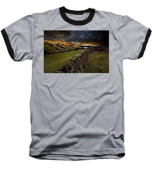 Storm Over Windermere Baseball T-Shirt