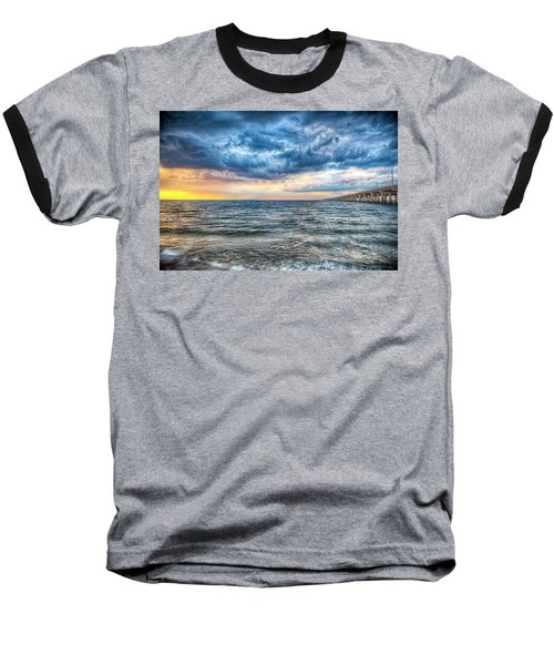 Storm Rising Baseball T-Shirt