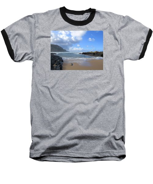 Storm River Beach Baseball T-Shirt
