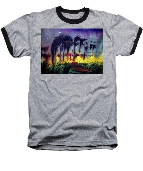 Storm Baseball T-Shirt by Samiran Sarkar
