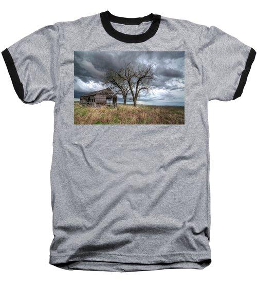 Storm Sky Barn Baseball T-Shirt