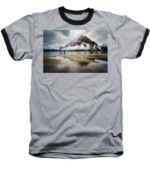 Storm Tracker Baseball T-Shirt by Nicki Frates