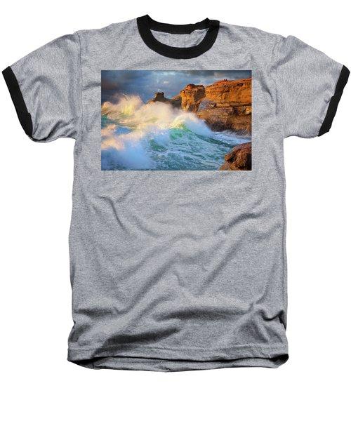 Baseball T-Shirt featuring the photograph Storm Watchers by Darren White