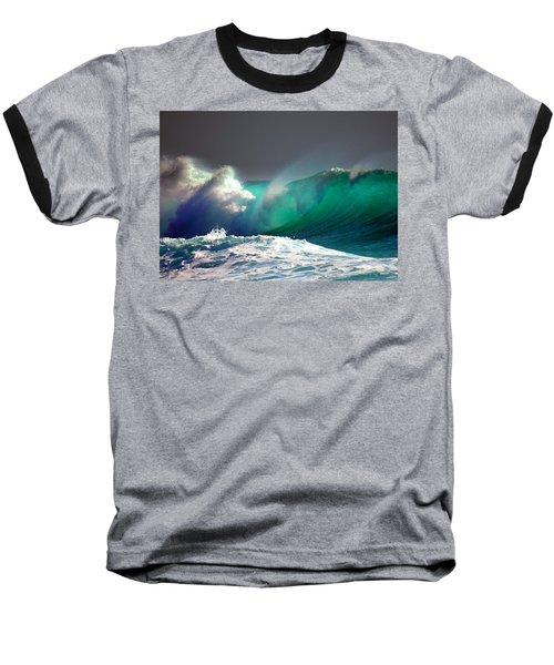 Storm Wave Baseball T-Shirt