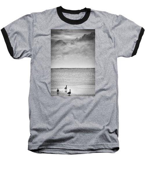 Canada Geese - Currituck Sound Baseball T-Shirt