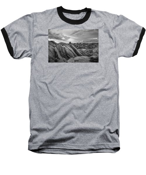 Stormy Afternoon At Alabama Hills Baseball T-Shirt