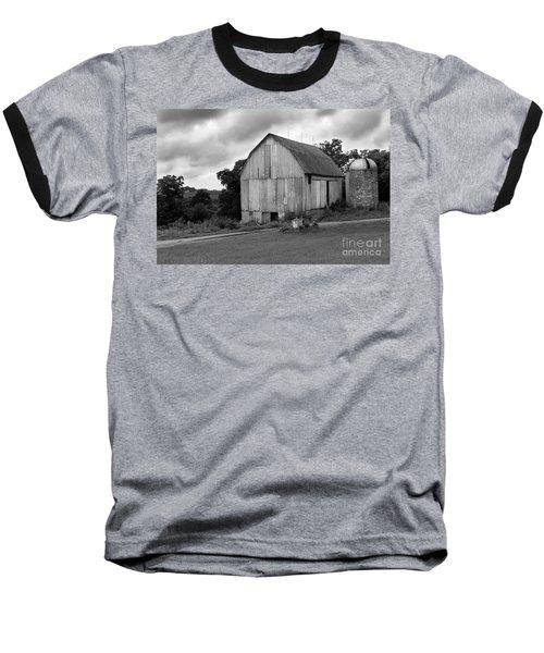 Stormy Barn Baseball T-Shirt